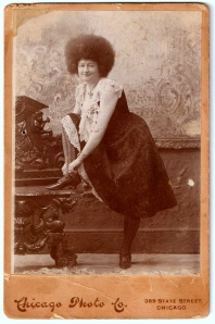 Ada Zingara photograph, ca. 1890s, Chicago, Illinois; digital image 2013, privately held by Melanie Frick, 2013.