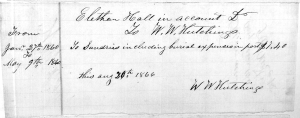 Washington County, Illinois, Ellerton Hall probate file, Box 34, County Court; Illinois State Archives, Springfield.