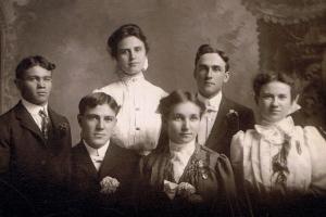HenryAdamMelanieLutzWedding1905